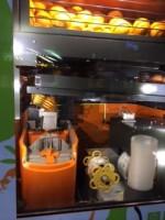 オレンジジュース絞り機